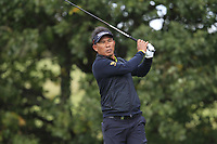 Thongchai Jaidee (THA) on the 4th tee during Round 2 of the Sky Sports British Masters at Walton Heath Golf Club in Tadworth, Surrey, England on Friday 12th Oct 2018.<br /> Picture:  Thos Caffrey | Golffile<br /> <br /> All photo usage must carry mandatory copyright credit (&copy; Golffile | Thos Caffrey)