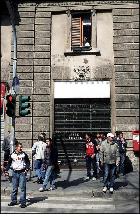 Milano, viale Jenner.