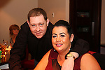 Gary and Lisa Moran at Tango's 6th Anniversary Party.<br /> Picture: Shane Maguire / www.newsfile.ie