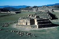 Mexico's Monte Alban ruins in the southern state of Oaxaca