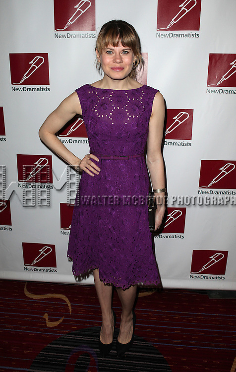 Celia Keenan-Bolger.attending the New Dramatists 63rd Annual Spring Luncheon to Honor Bernadette Peters at the Marriott Marquis Hotel in New York City on 5/24/2012 © Walter McBride/WM Photography .