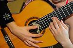 Guitar, Gitarre, music, Musik, Hand, Eschen, Liechtenstein.