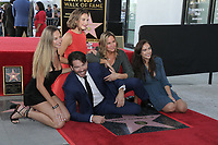 LOS ANGELES - OCT 24:  Georgia Connick, Sarah Connick, Charlotte Connick, Harry Connick Jr., Jill Goodacre at the Harry Connick Jr. Star Ceremony on the Hollywood Walk of Fame on October 24, 2019 in Los Angeles, CA
