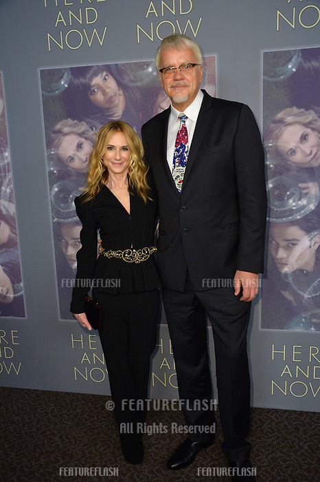 Holly Hunter &amp; Tim Robbins at the premiere for HBO's &quot;Here and Now&quot; at The Directors Guild of America, Los Angeles, USA 05 Feb. 2018<br /> Picture: Paul Smith/Featureflash/SilverHub 0208 004 5359 sales@silverhubmedia.com