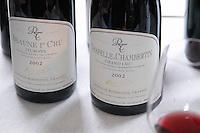 beaune 1er cru teurons chapelle chambertin gc 2002 dom rossignol trapet gevrey-chambertin cote de nuits burgundy france