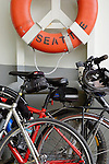 Bicycles on the Bainbridge Island ferry