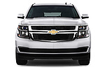 Straight front view of a 2015 Chevrolet Tahoe 2WD LT 5 Door SUV