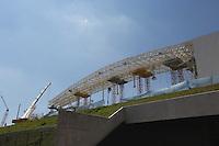 SAO PAULO, SP, 20.01.2014 - VISITA FIFA ARENA DE SAO PAULO -  Visita a Arena de São Paulo (Itaquerao) estádio que sediara a abertura da Copa do Mundo em Junho, na região leste de Sao Paulo, nesta segunda-feira, 20. (Foto: Vanessa Carvalho / Brazil Photo Press).