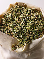 Whole fennel seeds - stock photos