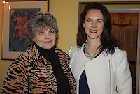 NWA Democrat-Gazette/CARIN SCHOPPMEYER Susan Hall (left) and Laura Jacobs attend the UAMS NW anniversary celebration.
