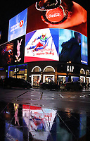 Piccadilly Circus. London on Saturday February 10th 2018<br /> CAP/ROS<br /> &copy;ROS/Capital Pictures