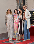Lucy Liu Honored With Star On The Hollywood Walk Of Fame on May 01, 2019 in Hollywood, California.<br /> Lucy Liu 030 Drew Barrymore, Demi Moore, Cameron Diaz