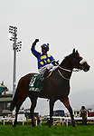 HONG KONG - DECEMBER 12:  Pierre Strydom riding 'J J The Jet Plane' wins the Hong Kong Sprint during the Cathay Pacific International Races at the Sha Tin Racecourse on December 12, 2010 in Hong Kong, Hong Kong. Photo by Victor Fraile / The Power of Sport Images