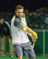 10-02-13, Tennis, Rotterdam, qualification ABNAMROWTT,  Tobios Kampke