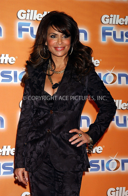 WWW.ACEPIXS.COM . . . . . ....NEW YORK, FEBRUARY 7, 2006....Paula Abdul at the Launch of the New Gillette Fusion Razor. ....Please byline: KRISTIN CALLAHAN - ACEPIXS.COM.. . . . . . ..Ace Pictures, Inc:  ..Philip Vaughan (212) 243-8787 or (646) 679 0430..e-mail: info@acepixs.com..web: http://www.acepixs.com