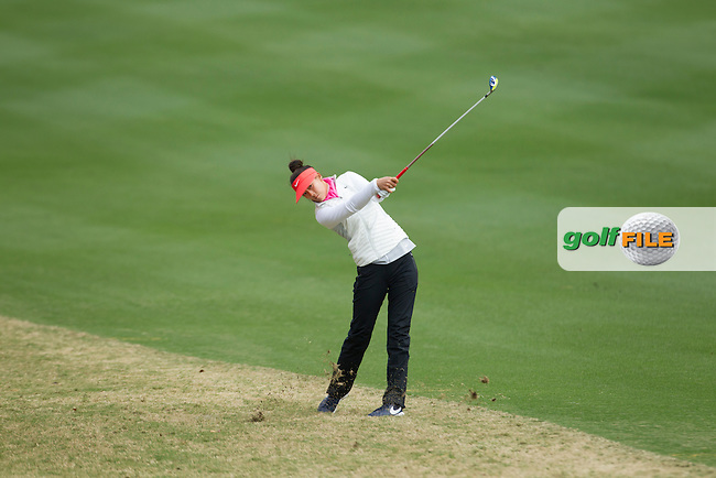 Michelle Wie  on the 18th during the Second Day of the Third round of the LPGA Coates Golf Championship 2016 , from the Golden Ocala Golf and Equestrian Club, Ocala, Florida. 6/2/16<br /> Picture: Mark Davison | Golffile<br /> <br /> <br /> All photos usage must carry mandatory copyright credit (&copy; Golffile | Mark Davison)