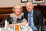 Mary and Christy Sheehy pictured at a fundraising Dinner in aid of Aras Mhuire Nursing Home at the Cliff House Hotel on Sunday Night.