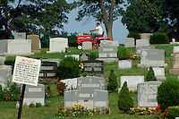 - New Jersey, cemetery....- New Jersey, cimitero