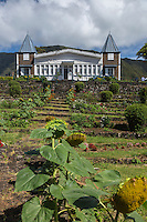 France, île de la Réunion, Parc national de La Réunion, classé Patrimoine Mondial de l'UNESCO, La Plaine des Palmistes, Domaine des Tourelles, paysage architectural, patrimoine historique, maison typique coloniale traditionnelle et authentique // France, Reunion island (French overseas department), Parc National de La Reunion (Reunion National Park), listed as World Heritage by UNESCO, La Plaine des Palmistes, Domaine des Tourelles, landscape architectural, historical, typical colonial house traditional and authentic