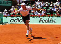 Tomas Berdych (CZE) against Robin Soderling (SWE) (5) in the semi-finals for the men's singles. Robin Soderling beat Tomas Berdych 6-3 3-6 5-7 6-3 6-3...Tennis - French Open - Day 13 - Fri 04 Jun 2010 - Roland Garros - Paris - France..© FREY - AMN Images, 1st Floor, Barry House, 20-22 Worple Road, London. SW19 4DH - Tel: +44 (0) 208 947 0117 - contact@advantagemedianet.com - www.photoshelter.com/c/amnimages