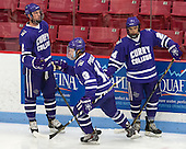 Frankie Posillico (Curry - 13) - Shane Harrington (Curry - 2), Michael Vallescuro (Curry - 24) - The Wentworth Institute of Technology Leopards defeated the visiting Curry College Colonels 1-0 on Saturday, November 23, 2013, at Walter Brown Arena in Boston, Massachusetts.