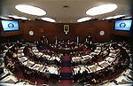 U.S. Senate Majority Leader Harry Reid addresses a joint session of the Legislature, in Carson City, Nev., on Wednesday, Feb. 20, 2013..Photo by Cathleen Allison
