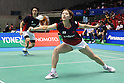 (L to R) Shintaro Ikeda (JPN), Reiko Shiota (JPN), September 21, 2011 - Badminton : YONEX Open Japan 2011, Mixed Doubles at Tokyo Metropolitan Gymnasium, Tokyo, Japan. (Photo by Daiju Kitamura/AFLO SPORT) [1045]