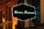 Davy Byrne's Moral Pub, Duke Street, Dublin..is situated at 21 Duke Street, Dublin 2 and was made famous in James Joyce's novel Ulysses. In the novel, Leopold Bloom stops for a gorgonzola cheese sandwich and a glass of burgundy while wandering through Dublin...