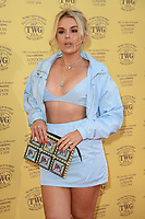 Tallia Storm<br /> arriving for the TWG Tea Gala Event at Leicester Square, London<br /> <br /> ©Ash Knotek  D3413  02/07/2018