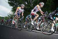 2013 Giro d'Italia.stage 10..Brian Bulgaç (NLD) & Dirk Bellemakers (NLD).