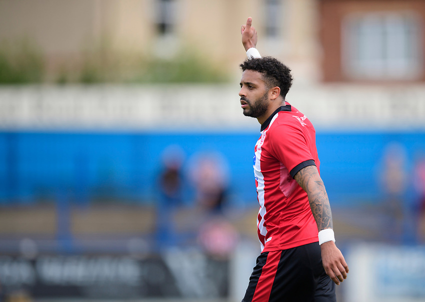 Lincoln City's Bruno Andrade<br /> <br /> Photographer Chris Vaughan/CameraSport<br /> <br /> Football Pre-Season Friendly (Community Festival of Lincolnshire) - Lincoln City v Lincoln United - Saturday 6th July 2019 - The Martin & Co Arena - Gainsborough<br /> <br /> World Copyright © 2018 CameraSport. All rights reserved. 43 Linden Ave. Countesthorpe. Leicester. England. LE8 5PG - Tel: +44 (0) 116 277 4147 - admin@camerasport.com - www.camerasport.com
