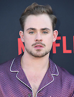 "28 June 2019 - Santa Monica, California - Dacre Montgomery. ""Stranger Things 3"" Los Angeles Premiere held at Santa Monica High School. Photo Credit: Birdie Thompson/AdMedia"