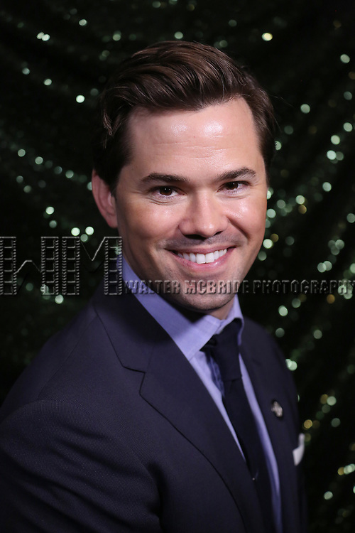 Andrew Rannells attends the 2017 Tony Awards Meet The Nominees Press Junket at the Sofitel Hotel on May 3, 2017 in New York City.