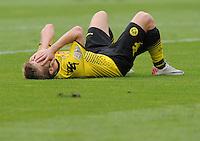 FUSSBALL   1. BUNDESLIGA  SAISON 2011/2012   2. Spieltag   13.08.2011 TSG 1899 Hoffenheim - Borussia Dortmund  Enttaeuschung Borussia Dortmund:  Jakub  Blaszczykowski
