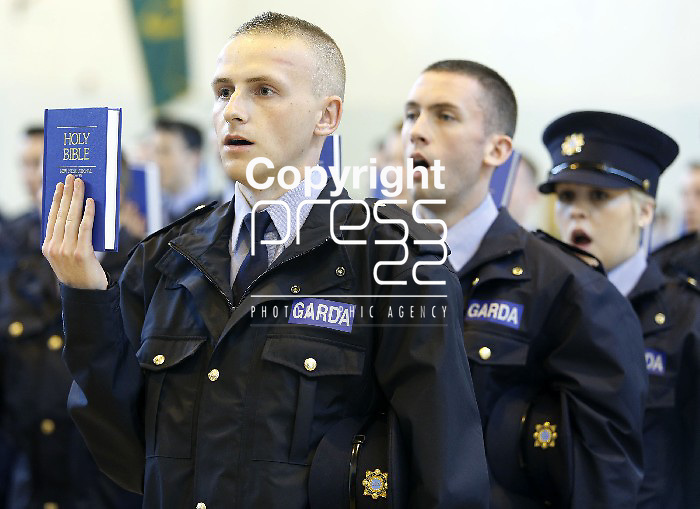 15/07/2013 Reserve Garda Graduates pictured at a Garda Reserve Graduation Ceremony which took place at the Garda Training College, Templemore, Co. Tipperary. Picture: Don Moloney / Press 22
