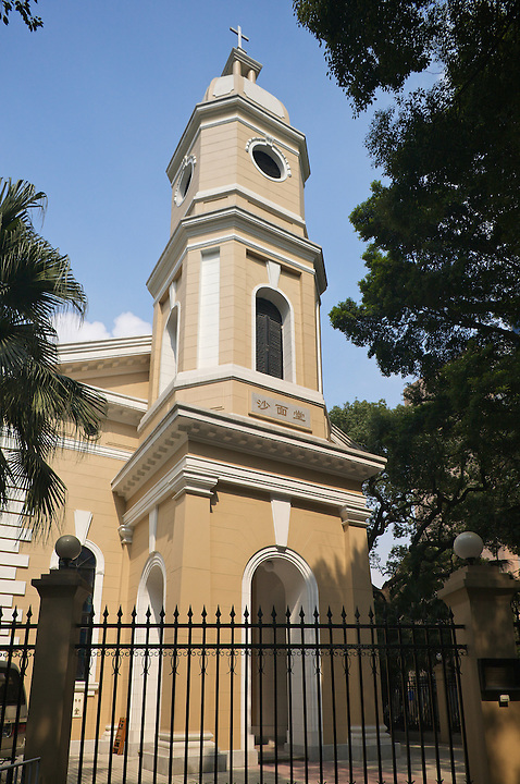 English Church, Shamian (Shameen) Island, Guangzhou (Canton).