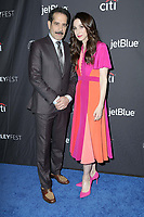 """LOS ANGELES - MAR 15:  Marin Hinkle, Tony Shalhoub at the PaleyFest - """"The Marvelous Mrs. Maisel"""" at the Dolby Theater on March 15, 2019 in Los Angeles, CA"""
