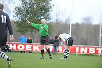VOETBAL: MILDAM: 04-04-2015, VV Mildam - VV Oldeboorn, uitslag 1-4, ©foto Martin de Jong