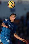 Francisco Portillo Soler of Getafe CF in action during the La Liga 2017-18 match between Getafe CF and Valencia CF at Coliseum Alfonso Perez on December 3 2017 in Getafe, Spain. Photo by Diego Gonzalez / Power Sport Images