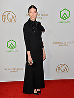 SANTA MONICA, USA. January 18, 2020: Caitriona Balfe at the 2020 Producers Guild Awards at the Hollywood Palladium.<br /> Picture: Paul Smith/Featureflash