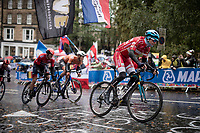 Jakob Fuglsang (DEN/Astana)<br /> <br /> Elite Men Road Race from Leeds to Harrogate (shortened to 262km)<br /> 2019 UCI Road World Championships Yorkshire (GBR)<br /> <br /> ©kramon