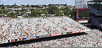 General view of the eastern stand. International One Day Cricket. New Zealand Black Caps v Australia. Chappell–Hadlee Trophy, Game 1. Eden Park Monday 30 January 2017 © Copyright photo: Andrew Cornaga / www.photosport.nz