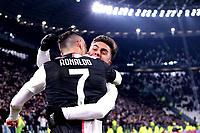 Cristiano Ronaldo of Juventus celebrates with Paulo Dybala after scoring a goal <br /> Torino 19/01/2020 Juventus Stadium <br /> Football Serie A 2019/2020 <br /> Juventus FC - Parma Calcio 1913 <br /> Photo OnePlusNine / Insidefoto