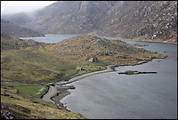 BNPS.co.uk (01202 558833)<br /> Pic: GeoffAllan/BNPS<br /> <br /> A pocketed-sized bothy that sleeps 4 located at Glencoul in the Northern Highlands.<br /> <br /> Views with rooms. - New book reveals the remote 'bothies' that lie hidden in some of Britain's most spectacular locations.<br /> <br /> Nestled away in the beautiful remote wilderness of Scotland are a network of secluded mountain huts - known as bothies - where walkers can stay the night before heading to pastures new.<br /> <br /> What is so special about these quaint outposts in some of the most idyllic and untouched landscapes north of the border is that they are completely free to use.<br /> <br /> As a result, the location of many bothies has been a closely guarded secret with visitor centres reluctant to advertise their whereabouts for fear they become overcrowded.<br /> <br /> But in his new book, The Scottish Bothy Bible, author and photographer Geoff Allan has listed more than 80 of them in a bid to make them known to a wider audience.