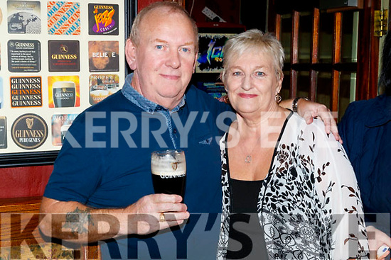 Peter and Julie Jordan Roberts, enjoying the 80's/90's fundraiser disco at the Abbey Tavern, Ardfert on Saturday night last.