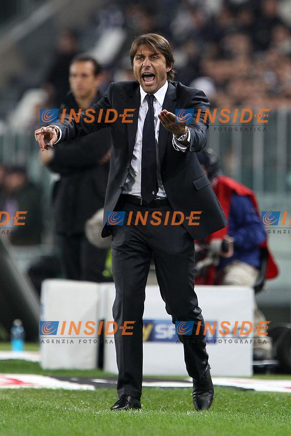 Antonio Conte Juventus.Torino 25/10/2011 Stadio Juventus.Football Calcio Serie A 2011-12.Juventus vs Fiorentina.Foto Insidefoto Paolo Nucci