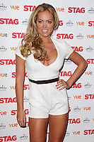 """Aisleyne Horgan Wallace arrives for the premiere of """"The Stag"""" at the Vue Leicester Square, London. 13/03/2014 Picture by: Steve Vas / Featureflash"""