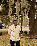 January 6, 2017. Charleston, South Carolina.<br />  <br /> Anthony Scott is Walter Scott's older brother. <br /> <br /> Walter Scott was shot on April 4, 2015, in North Charleston, South Carolina after a routine traffic stop by police officer Michael Slager. Fearing an outstanding warrant, Scott fled the scene and was briefly chased and caught  by Slager. After a scuffle, Scott ran again and was shot in the back by Officer Slager. A video taken by eyewitness Feidin Santana captured much of the incident, but some facts between the video and the officer's account were disputed.<br /> <br /> Officer Slager's first trial for murder ended on December 5, 2016 in mistrial after the jury couldn't reach a unanimous decision. The lead prosecutor in the case immediately announced her intent to retry Slager, who has also been indicted by federal prosecutors.