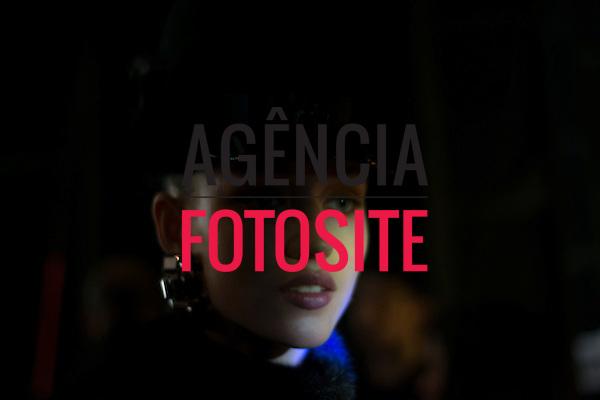 Milao, Italia &ndash; 02/2014 - Desfile de Dsquared2 durante a Semana de moda de Milao - Inverno 2014. <br /> Foto: FOTOSITE