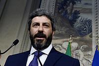 Roberto Fico al Quirinale